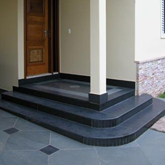 Black Outdoor Paving Slabs
