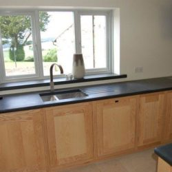 Black Brazilian Slate worktop