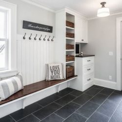 Brazilian slate Mudroom