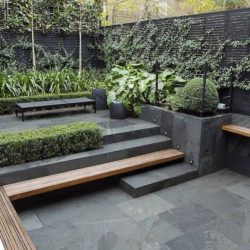 Brazilian slate patio slabs