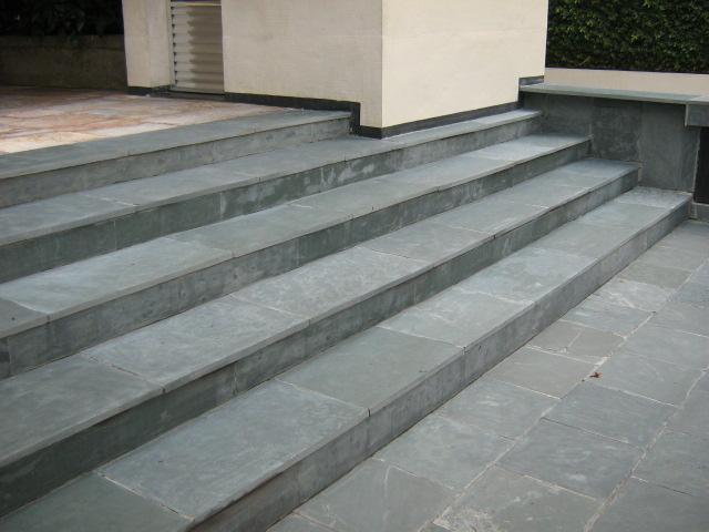 Brazilian Grey Green Outdoor Paving Slabs Brazili Stone