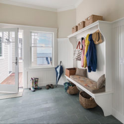 GreyGreen Brazilian slate mudroom floor