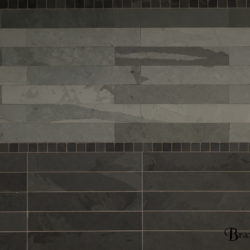GreyGreen Brazilian slate strips 1