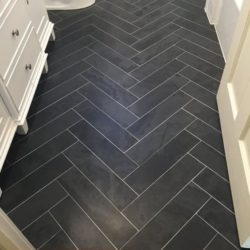 60x10 Brazilian slate strip floor